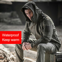 Men Hunting Outdoor Softshell Military Tactical Jacket Men Waterproof Army Coat