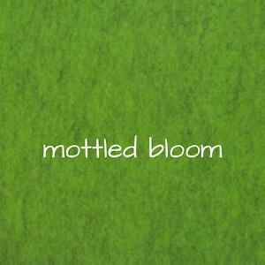 1.2mm Wool Felt - Mottled Bloom