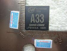 1x Allwinner Tech A 33 A33 CPU BGA IC Chip