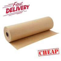 BROWN KRAFT PARCEL PAPER for Packing and Wrapping Parcels STRONG ROLLS