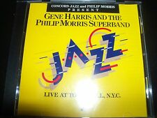 Gene Harris & The Philip Morris Superband Live At Town Hall NYC Australian CD