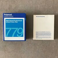 3 Packs of 10 Exposure 779 Polaroid Instant Color Film Expired 10/97 NEW SEALED