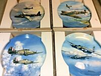 WWII RAF Aircraft/Plane COALPORT BRADEX Michael Turner Collector Plates - CHOOSE
