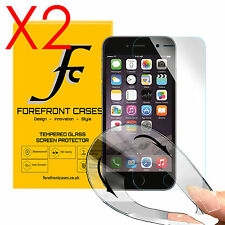 2 X 9H Hd Flexible Escudo Protector de Pantalla de Vidrio Templado para Apple iPhone 6