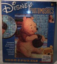 Disney Winnie the Pooh Photomosaic 1000 Piece Jigsaw Puzzle by Robert Silver NEW