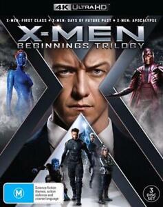 X-Men Beginnings - Trilogy UHD