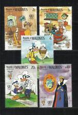 MALDIVAS. Año: 1985. Tema: WALT DISNEY.