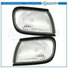 NI2520125 NI2521125 Pair Corner Light Signal Lamps for 1997-1999 Nissan Maxima