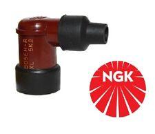 NGK SPARK PLUG CAP LB05E-H RESISTORE Coperchio (Rosso) 90 º a Gomito LB05EH (8688)