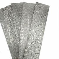 Damascus Stainless Steel Twist Blank Billet Bar Rod for Knife Making 150-350mm