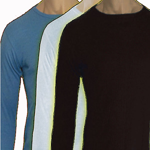Mens thermal underwear  long sleeve vest ski  warm brushed ski   singles one