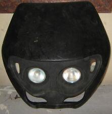 """Cupolino Anteriore """" UFO """" Universale / Made In Italy / Nero / 2 Fari"""