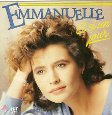 EMMANUELLE ET SI UN JOUR / JE PENSE A TOI FRENCH 45 SINGLE