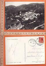 Magione (PG) Veduta aerea - F/g - Viaggiata 1954 - 20046