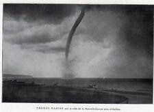 HALIFAX TROMBE MARINE TORNADO NOUVELLE ECOSSE CANADA IMAGE VERS 1920 PRINT