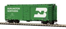 HO Scale 40' PS-1 Box Car - Burlington Northern #127843 - MTH #85-74104