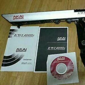 Akai EWI4000S Built-in sound source supervised by Takahiro Miyazaki Use
