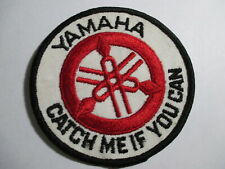 Yamaha Catch Me If You Can Patch NOS, Original, Vintage  3 7/8 x 3 7/8 INCHES