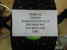 1 NEW NOKIAN HAKKAPELIITTA 9 255 35 19 96T TIRE W LABEL TS32233 Q9