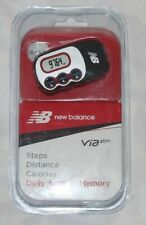 New Balance VIA Slim Komen 3Axis Pedometer Step Counter
