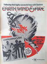 EARTH WIND & FIRE - THATS THE WAY.. ALBUM FULL PAGE MELODY MAKER ADVERT SEP 1975