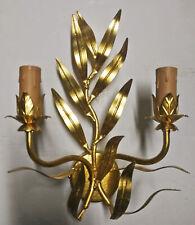 Lampada da parete ANTICA in foglia oro applique fatta nostra fabbrica art.463