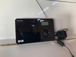 Technika DAB Radio Model 121 Mains or Battery Black