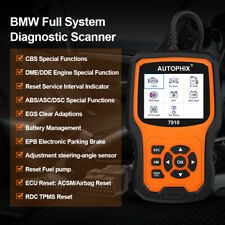 For BMW Mini OBD2 Auto Scanner Tool ABS SAS EPB Oil Autophix 7910 Car All System