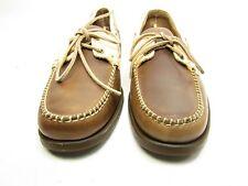 Sebago Horween Spinnaker Boat Shoes B720034 For Men Brown/bone Size 12M