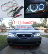 4pcs Excellent CCFL Angel Eyes kit Halo Rings For Hyundai Sonata 2006 2007 2008