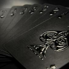 Impressions Black Stealth Limited Custom Poker Playing Cards Professional.