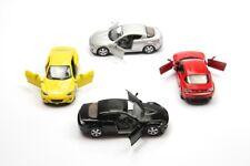 "4PC SET: 5"" Kinsmart Mazda RX-8 Diecast Model Toy Car 1:36"