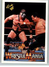 1990 Classic WWF WWE History of Wrestlemania #76 Demolition Mr Fuji