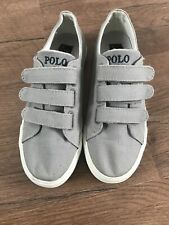 Polo Ralph Lauren Boys Girls Kids Trainers Uk 2 1/2