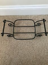Longaberger Wrought Iron 8x8 Pottery Carrier Stand Item #71683