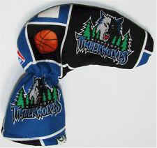 Timberwolves Golf Putter Head Cover / Putter Club Cover / Puttercover