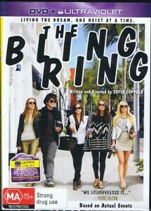 THE BLING RING DVD Living The Dream, One Heist At A Time NEW & SEALED Free Post