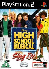High School Musical: Sing It PS2 (Playstation 2) - Free Postage - UK Seller
