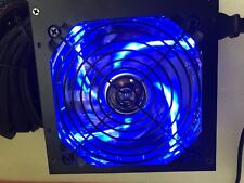 NEW 600W 650W 650 Watt 700W Large Fan BLUE ATX Power Supply PSU 450W 500W 550W