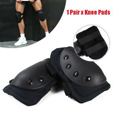 Pair Hard Shell Knee Pads for Work safety Protection Foam Sponge Adjustable