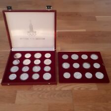 14x 5 & 14x 10 Rubel Ruble Olympic Games Moscow 1980 Russia - very rare in Proof