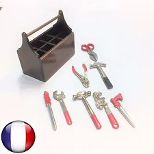 CAISSE BOIS 8 OUTILS TAMIYA HPI AXIAL D90 SCX10 CR01 RC4WD CRAWLER DEFENDER J5L