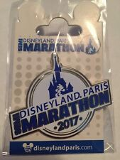 Disneyland Paris Rundisney Marathon 2017 pin semi marathon 2017 logo design pin