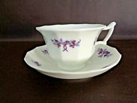 China Cup & Saucer Set With Hand Painted Design (#14A050)