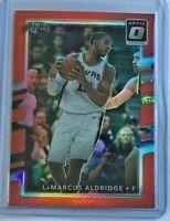LaMarcus Aldridge *Red* 2017-18 Donruss Optic 🏀 #14/99 - San Antonio Spurs