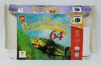 Bass Hunter 64 - Nintendo 64 N64 BOX ONLY