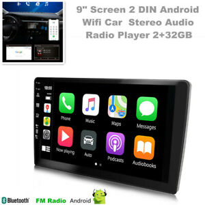 9 inch Screen 2DIN Android Wifi Car Stereo Audio Radio Dash Unit Player 2+32GB
