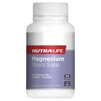 Nutra-Life Magnesium Stress Ease 60 Capsules with Ashwagandha OciBest NutraLife
