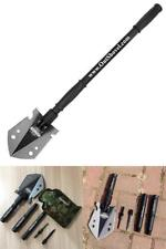Military Survival Folding Shovel Camping Hiking Entrenching Tactical Spade Pick