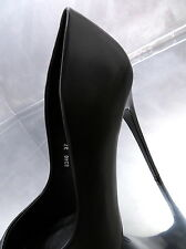 Hohe Stiletto Pumps Black Elegant Damen High Heels N64 Schuhe Schwarz 36